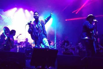 "Miguel Covers ""Hotline Bling"" With Arcade Fire's Win Butler"