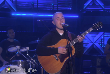 "Mike Posner Performs ""I Took A Pill In Ibiza"" On Ellen"
