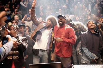 "Kid Cudi & Kanye West Had To Talk Things Out Before Working On ""The Life Of Pablo"""