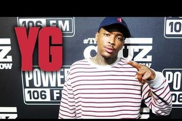 "YG Speaks On ""Still Krazy"" Album Process On Power 106"