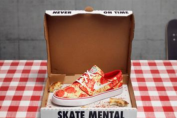 Nike Is Releasing A Sneaker For All Of The Pizza Enthusiasts Tomorrow