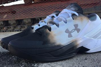 "A Sneaker Customizer ""Roasted"" The Under Armour Curry 2 Low"