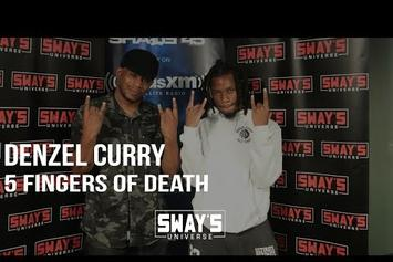 "Denzel Curry ""5 Fingers Of Death"" Freestyle"