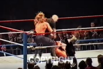 Watch Triple H Beat Up A Rogue Fan In This Unearthed WWE Video