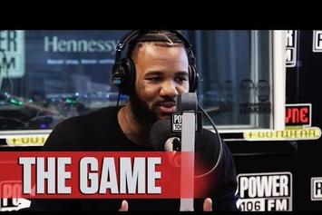 The Game Recites Spoken Word Poem On Race In America On Power 106