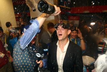 """Cubs' Theo Epstein Says He's """"Going On A Bender"""" Following World Series Victory"""