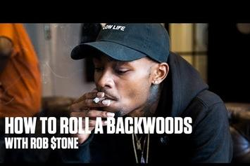How To Roll A Backwoods With Rob $tone