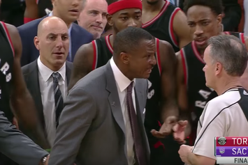 Watch The Controversial Finish Of Last Night's Raptors vs. Kings Game
