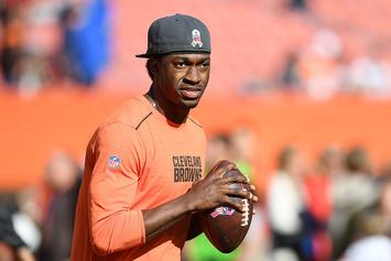 "Robert Griffin's Car Burglarized In ""Players And Family"" Parking Garage During Browns Game"