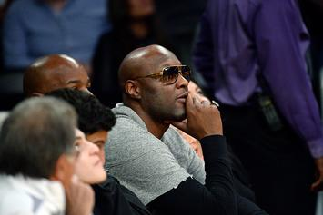 Lamar Odom Check Himself Back Into A Rehab Facility In San Diego