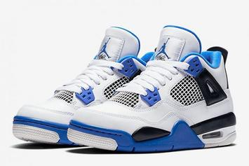 """""""Motorsports"""" Air Jordan 4 Will Be Releasing In Men's And GS Sizes"""