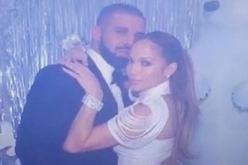 Drake & Jennifer Lopez Share A Kiss, Preview New Collaboration
