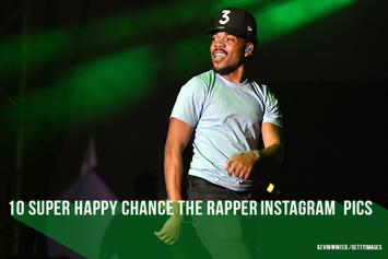 10 Super Happy Chance The Rapper Instagram Pics