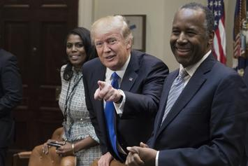 Donald Trump Gives Bizarre Speech In Honor Of Black History Month Speech