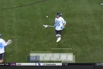 Watch Johns Hopkins Pull Off Perfect Hidden Ball Trick Against Navy