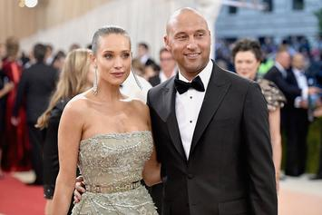 Hannah And Derek Jeter Announce They're Having A Baby
