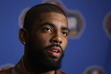Kyrie Irving Actually Believes The Earth Is Flat