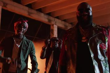 """Rick Ross Feat. Young Thug, Wale """"Trap Trap Trap"""" Video"""