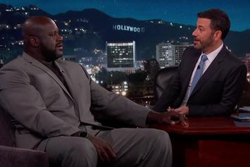 Shaq Tells Jimmy Kimmel About The Time He Tipped A Waitress $4,000