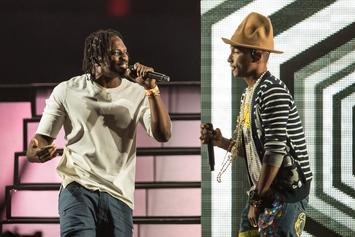 Watch Pusha T & Pharrell Praise Each Other's Rap Skills