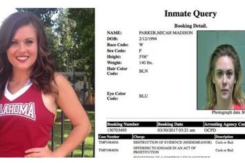 Former Oklahoma Football Player Accused Of Pimping Out A Former Cheerleader