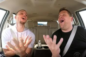 Steph Curry Sings Disney Songs During Carpool Karaoke With James Corden