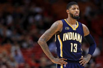 "Paul George Rants About ""Shitty Officiating"" After Being Ejected"