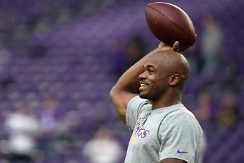 Adrian Peterson Explains Why He Signed With New Orleans Saints