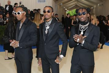 Migos Grace Met Gala 2017 With Performance