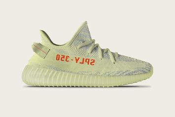 Yellow Adidas Yeezy Boosts Are Reportedly Releasing This Year