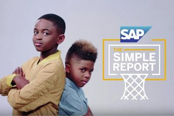 """Chris Paul's And Dwyane Wade's Sons Host NBA Finals """"Simple Report"""""""