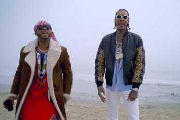"Red Cafe Feat. Wiz Khalifa, French Montana ""God Wanted Us To Be Lit"" Video"