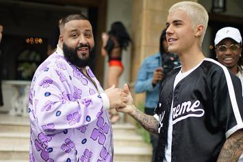 """Justin Bieber Made DJ Khaled Play Him In Hockey Before Recording """"I'm The One"""""""