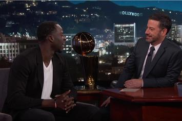 Watch Draymond Green's Interview With Jimmy Kimmel