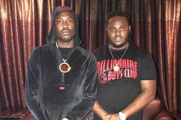 Meek Mill & Tee Grizzley Get In The Studio