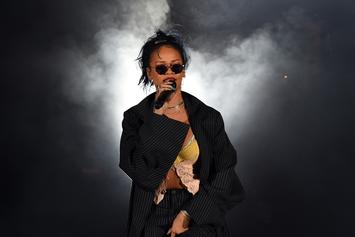Rihanna Reportedly Makes Out With New Mystery Man While In Spain