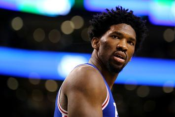 """NBA Fines Joel Embiid For Saying """"F*ck LaVar Ball"""" In Instagram Video"""
