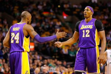 Dwight Howard Says His Feud With Kobe Was Created By The Media