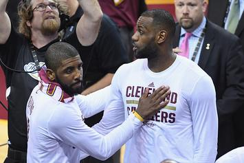 """Report: Kyrie Irving """"Not Going To Let LeBron 'Son' Him"""""""