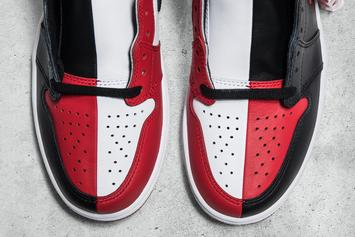 """""""Homage To Home"""" Air Jordan 1 Combines """"Banned"""" And """"Chicago"""" Colorways"""