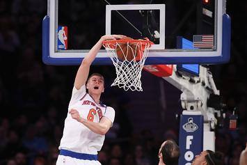 Porzingis Studying McGregor's Trash Talk To Improve Mental Toughness