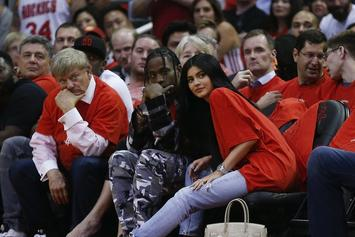 Kylie Jenner Attends Las Vegas Concert Following Pregnancy News