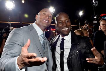 "Tyrese Throws Serious Shade At The Rock Over ""Fast 9"" Delay"