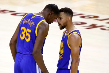 Stephen Curry & Kevin Durant Ejected After Arguing With, Cursing Out Refs