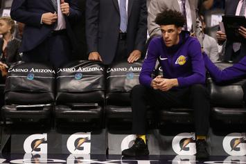 """Lonzo Ball Releases Snippet Of New Song, """"Get Off,"""" On His Birthday"""