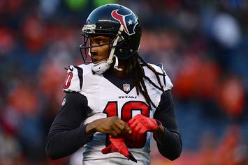 DeAndre Hopkins Leaves Practice In Wake Of Texans Owner's Comments