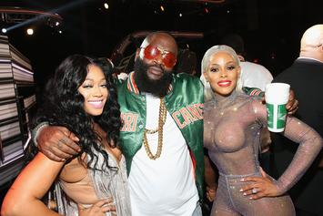 Rick Ross Ogles Female Fan While Taking Picture: Twitter Reacts