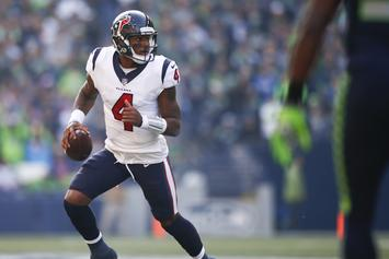 """DeShaun Watson Recovers From ACL Surgery By Listening To Future's """"Drip On Me"""""""