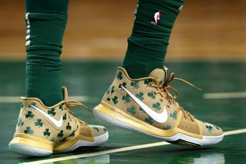 """Nike, Kyrie Irving Launch Celtics-Inspired """"Luck"""" Kyrie 3 PE"""