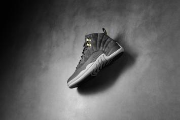 """""""Dark Grey"""" Air Jordan 12 To Release For First Time This Weekend"""